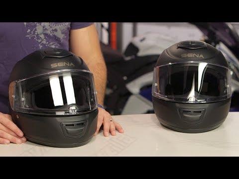 Sena Momentum Bluetooth-Integrated Helmets Review at RevZilla.com