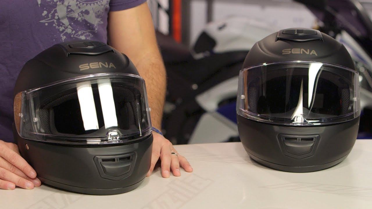 Sena Momentum Bluetooth Integrated Helmets Review At Revzilla Com