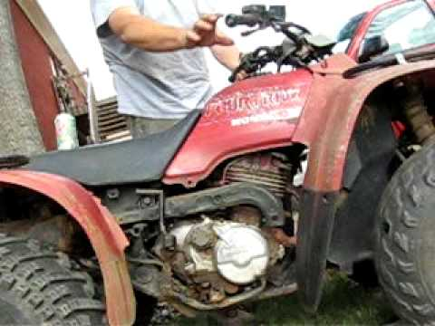 HONDA FOUR TRAX 300 OLD - YouTube