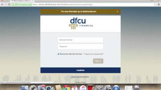 dfcu online banking login   how to access your account