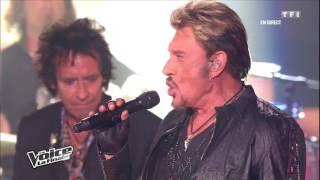 Gambar cover Stéphan Rizon & Johnny Hallyday - Requiem pour un fou   The Voice France 2012   Finale
