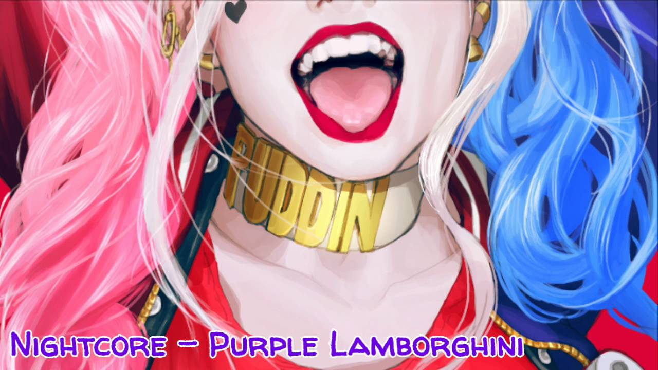 Nightcore Purple Lamborghini Suicide Squad Youtube