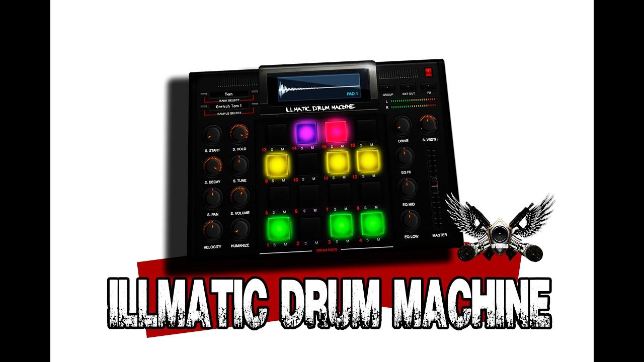 illmatic drum machine 32 64 bit mac pc compatible review youtube. Black Bedroom Furniture Sets. Home Design Ideas