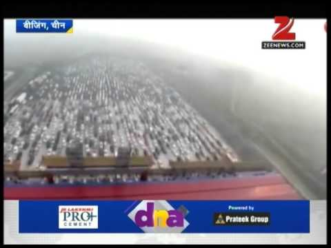 DNA: 50-lane traffic jam in China during national holiday