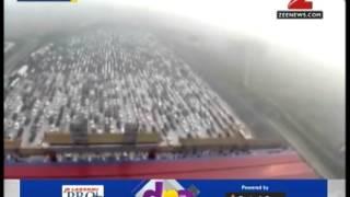 DNA: 50-lane traffic jam in China during national holiday