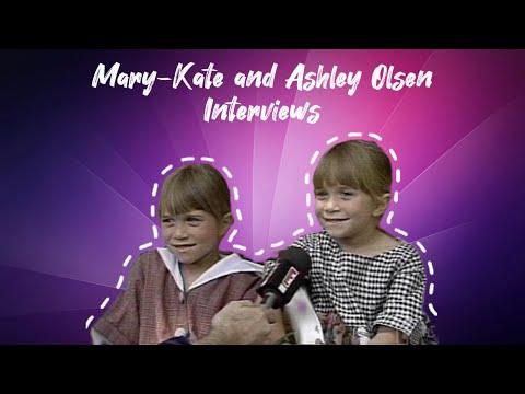Mary-Kate & Ashley Olsen - 1992 Rare Interview