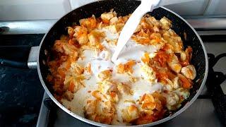 Когда не знаю что приготовить на УЖИН всегда готовлю это простое блюдо, подходит к любому гарниру