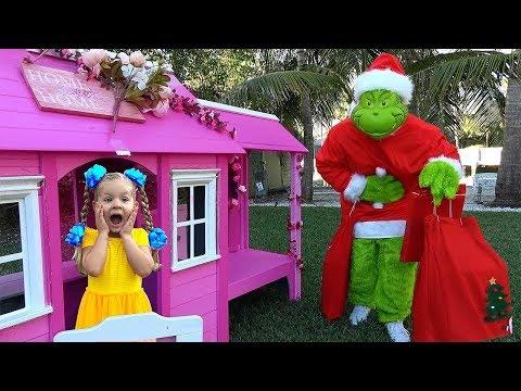 Diana Y El Grinch Que Se Robó Los Reglaos De Navidad