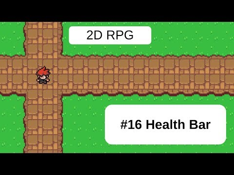 Topdown 2D RPG In Unity - 16 Health Bar thumbnail
