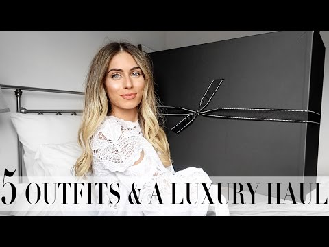 5 OUTFITS & A LUXURY HAUL | Lydia Elise Millen