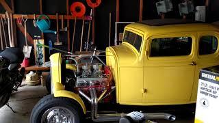 Garage Update - Central Pneumatic 21 Gallon Compressor and Shelves