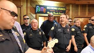 Muscle Shoals Police Dept. Lip-Sync Challenge