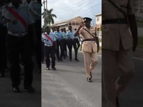 Guyana Police Force Route March  178th Anniversary