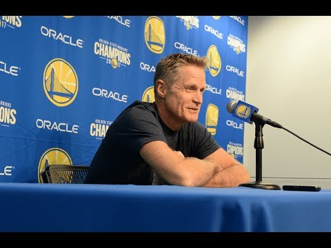 Kerr on Steph Curry ejection: 'It was egregious, it was awful' | ESPN