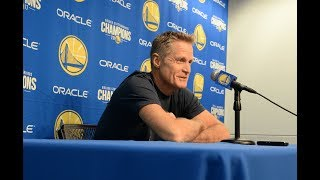 Kerr on Steph Curry ejection: 'It was egregious, it was awful'   ESPN
