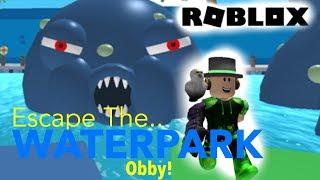 Ce parc aquatique est DANGEROUS!! - Obby Roblox