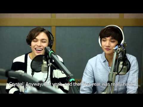 tbs eFM (101.3MHz) K-Popular interview with Seventeen 세븐틴 Joshua & Vernon - 3