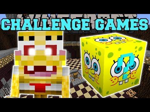 Minecraft: SPONGEBOB CHALLENGE GAMES - Lucky Block Mod - Modded Mini-Game
