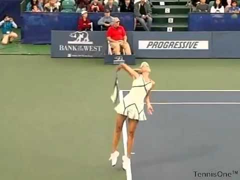 Quay chậm Maria Sharapova  phát bóng | TennisHouse.vn