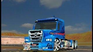 Grand Truck Simulator Skin mercedes ATRON para scania 113h