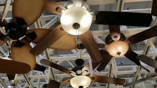 Home Depot Ceiling Fan Display