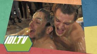 De Verliezer Blijft Staan - Erotisch Vla Worstelen | 101.TV