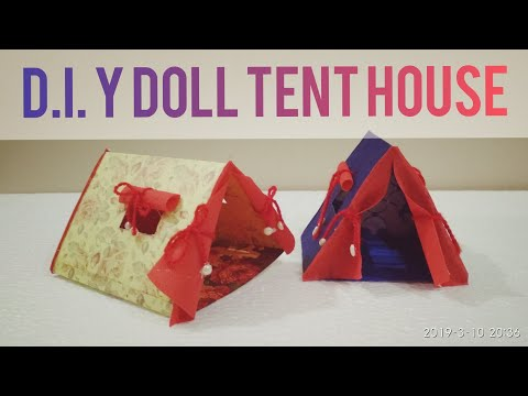 D.I.Y DOLL TENT HOUSE