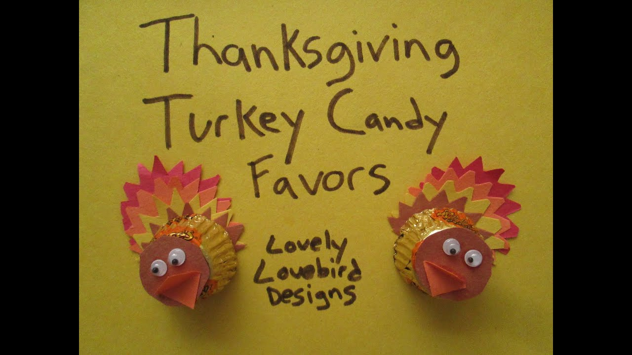 Candy Turkey Crafts Ideas