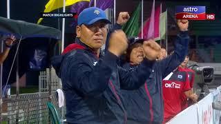 Hoki Piala Asia 2017: Sorotan Masa Penuh | Malaysia lwn Korea Selatan | Astro Arena