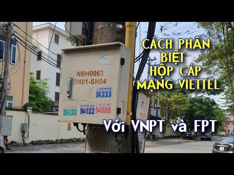 Cách Phân Biệt Hộp Cáp Quang Mạng VIETTEL với VNPT và FPT