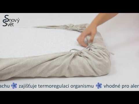 Magic 100% linen sheet   Kouzelné prostěradlo 100% len