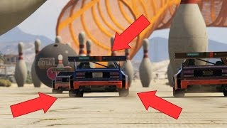 GTA 5 CUNNING STUNTS AWESOME NEW RACES ( GTA 5 FUNNY MOMENTS )