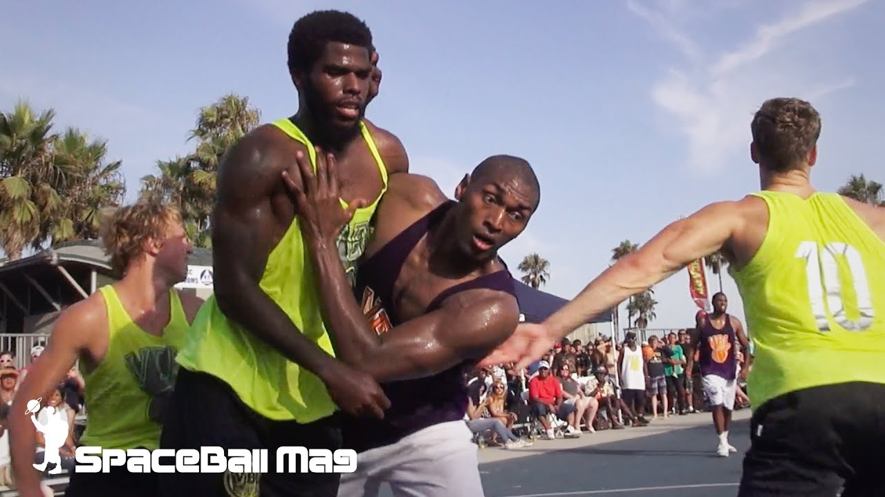 Metta World Peace in VBL - Venice Basketball League