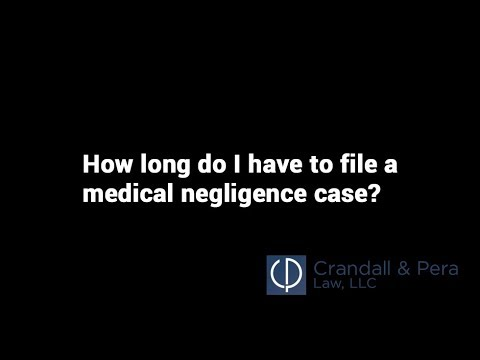 How Long Do I Have to File a Medical Negligence Claim? - Attorney Marc Pera