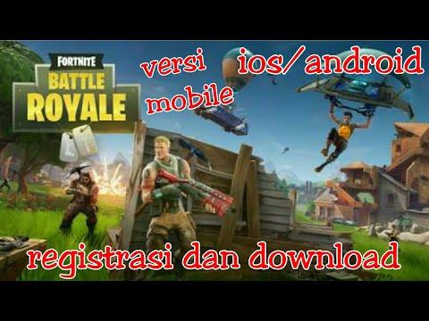 Cara Registrasi Fortnite Battle Royale Mobile Dan Info Terbaru