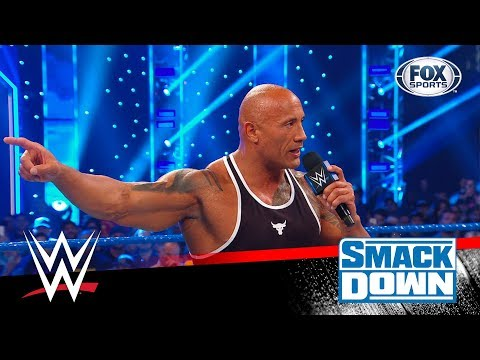 ¡'The Rock' reapareció en Smack Down!