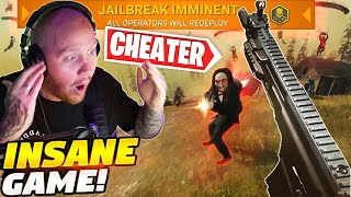 CHEATERS AND STREAM SNIPERS! THE CRAZIEST WARZONE GAME EVER!