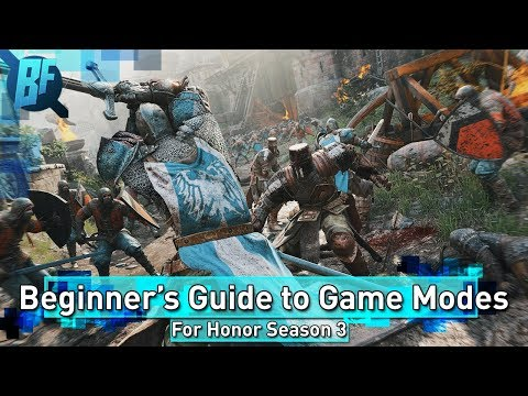 For Honor Season 3: A Beginner's Guide to Game Modes