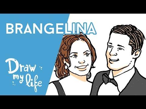 Brangelina: La Historia de Brad Pitt y Angelina Jolie - Draw My Life
