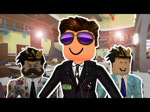 I Started Working At A Fancy Roblox Restaurant Roblox Roleplay