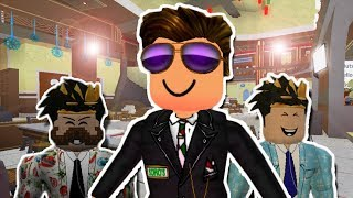I STARTED WORKING AT A FANCY ROBLOX RESTAURANT! (Roblox Roleplay)