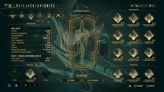 Warframe PS4 - Under 5 Minutes Solo Gian Point Run - Railjack Revisited