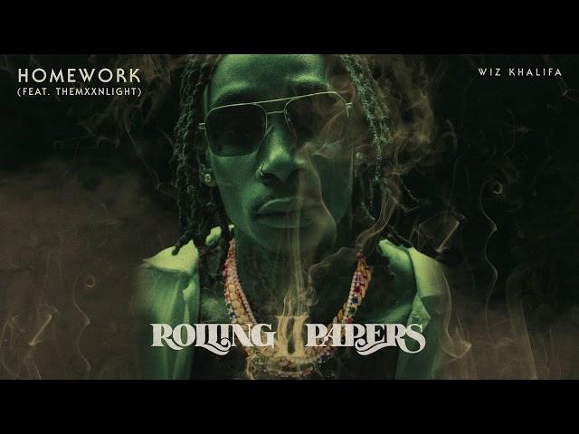Wiz Khalifa - Homework feat. THEMXXNLIGHT [Official Audio]