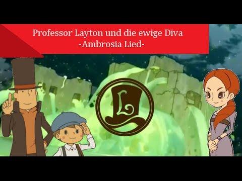 Anime Musik ♫ Professor Layton und die ewige Diva -Ambrosia Lied- ♫