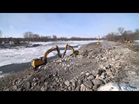 Timelapse: Xcel Energy's Minnesota Falls Dam Removal Project