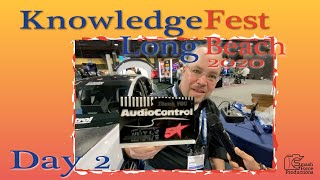 Day Two Knowledge Fest 2020 Long Beach show floor tour brought to you by AudioControl