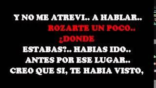 YA LO HABIA VIVIDO - MIGUEL MOLY  COROS DEMO  SERTRIERO KARAOKE
