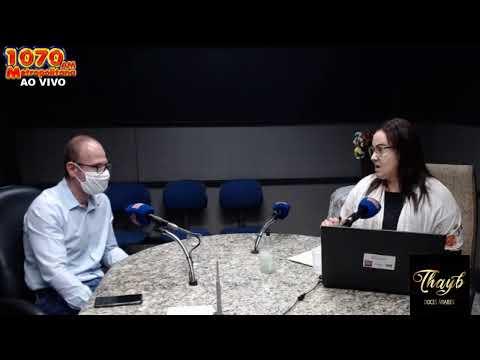Dr. Fernando Abdala em entrevista no Radar Noticioso, com Marilei Schiavi.
