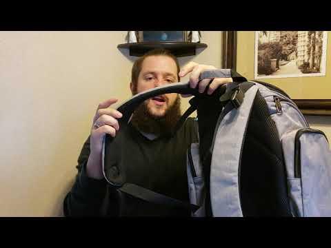 Mancro Diaper Bag Backpack Review
