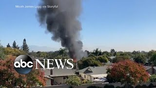 Download Plane crashes into home with dad, toddler inside   ABC News Mp3 and Videos